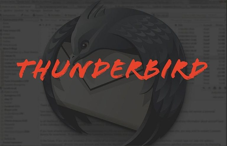 technique thunderbird Openscop