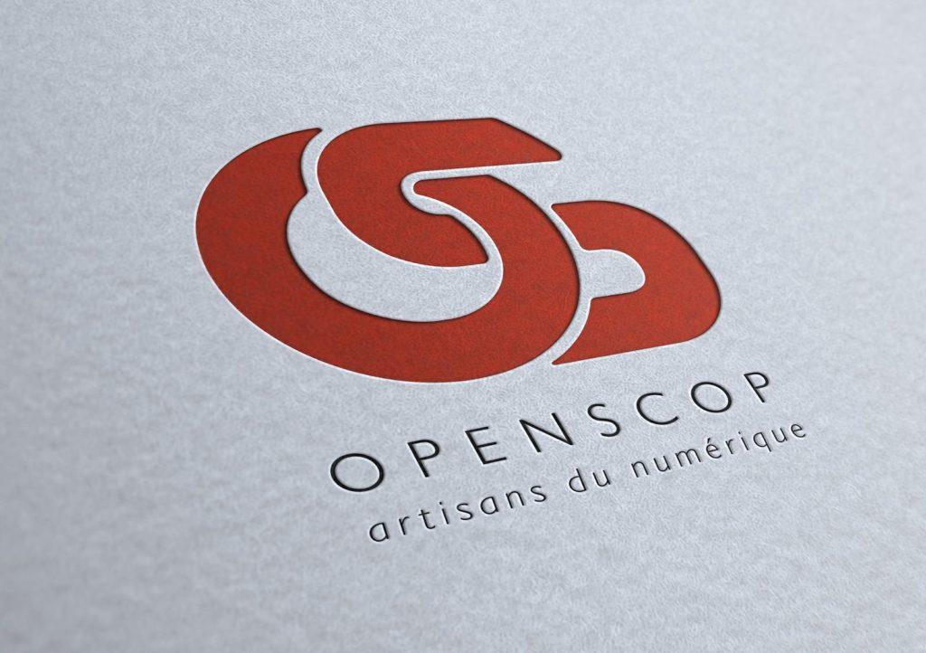 Nouveau logo Openscop